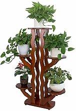Pflanzenständer Blumentöpfe Regal Ständer Holz