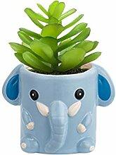 Pflanzgefäß für Babys, Elefant, Keramik, für