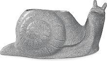 Pflanzgefäße Blumenkübel Schnecke Antik hellgrau