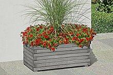 Pflanzkasten 80x45x30 cm Blumenkasten aus Holz