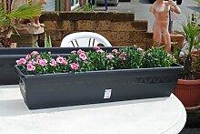Pflanzkasten,Blumenkasten,Balkonkasten,2er