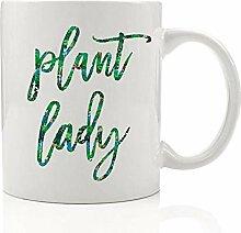Pflanzliche Frauen-Becher, Geschenk für Gärtner,