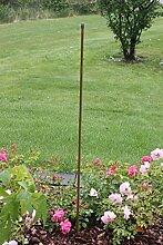 Pflanzstab,Pflanzstütze in Bambus optik,Stahlrohrkern,Kunststoffummantelt, in- und outdoor,in versch. Höhen (1800mm)