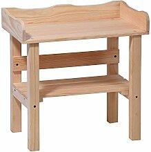 Pflanztisch für Kinder 48x28x48 cm Holz als