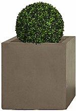 Pflanzwerk® Pflanzkübel Cube XXL Braun