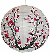 [Pflaumenblüte] Runde chinesische/japanische Art