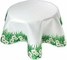 Pflegeleichte Decke Tischtuch Rund 150 cm