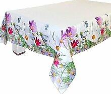 Pflegeleichte Tischdecke 130x170 cm eckig