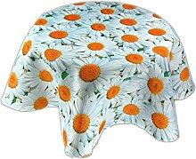 Pflegeleichte Tischdecken Decke Rund 150 cm