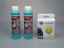 Pflegeset für Tassimo Kapselmaschinen - 2x 250ml
