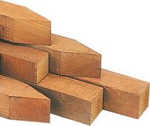 Pfosten hartholz 278cm