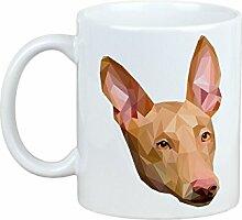 Pharao Hund, Becher mit einem Hund, Tasse, Keramik, neue geometrische Sammlung