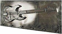 Pharao24 Design Hakengarderobe mit 3D Gitarren