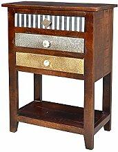 Pharao24 Design Telefontisch mit Schubladen