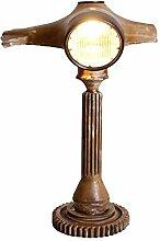 Pharao24 Designer Tischlampe in Lenker Design