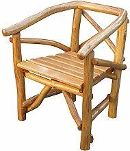 Pharao24 Gartenstuhl aus Holz massiv