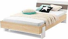 Pharao24 Jugendzimmerbett in Buche Taupe kaufen