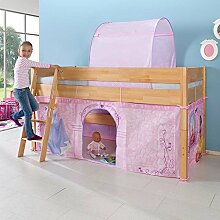 Pharao24 Kinderhochbett im Prinzessin Design