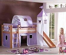 Taube Etagenbett Prinzessin : Prinzessin bett mit rutsche excellent elegant hochbett