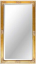 Pharao24 Wandspiegel in Gold Barock Breite 62 cm