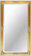 Pharao24 Wandspiegel in Gold Barock Breite 72 cm