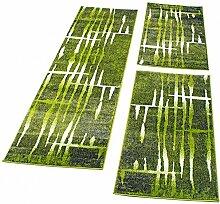 PHC Bettumrandung Läufer Teppich Meliert Design