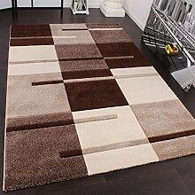 PHC Designer Teppich mit Konturenschnitt Karo