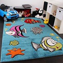 PHC Niedliche Eulen Teppich, Grösse:120x170 cm
