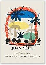 PHGFK Joan Miro Ausstellungsplakat Vintage