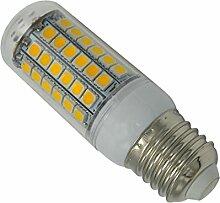 Phigoning 5 Stück E27 8W 69 SMD 5050 LED Lampe Birne E27 LED Lampe 8W SMD LED Mais Licht Leuchtmittel AC220-240V Warmweiß