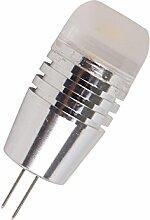 Phigoning 5 Stück G4 3W LED Birne Leuchtmittel COB LED Lampe G4 COB LED Energiespar Licht AC/DC12V Warmweiß