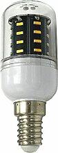 Phigoning 6 Stück E14 4W LED lampe Leuchtmittel E27 LED Birne Mais Licht 36x 4014 SMD LEDs Mit PC Material Super Energiesparend Licht AC220-240V Warmweiß