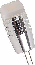 Phigoning 8 Stück G4 3W LED Birne Leuchtmittel COB LED Lampe G4 COB LED Energiespar Licht AC/DC12V Warmweiß