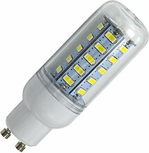 Phigoning 8 Stück GU10 LED Mais Lampe 6W Licht Birne 36 SMD 5730 LED GU10 Leuchtmittel Leuchte 6W AC220-240V Warmweiß