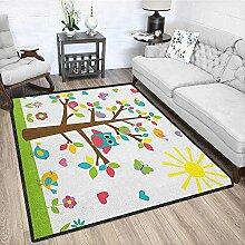 Philip C. Williams Kinderzimmer-Teppich, aus