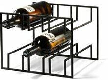 Philippi - Cubo Weinregal für 6 Flaschen, schwarz