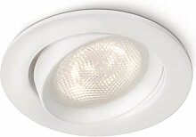 Philips Ellipse LED Einbaustrahler weiß, 1 x 4 W)