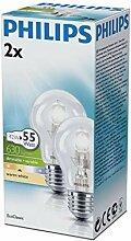 Philips Halogen-Leuchtmittel, dimmbar, E27/42