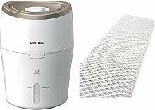 Philips HU4811/10 Luftbefeuchter (für Babies und Kinder, Raumgröße bis zu 25m²) mit Zubehör