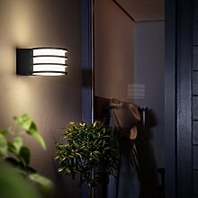 Philips Hue LED Wandleuchte Lucca Anthrazit inkl.