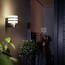 Philips Hue LED Wandleuchte Tuar Stahl Gebürstet