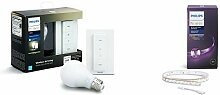 Philips Hue White Wireless Dimming Kit, E27 LED