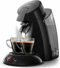 Philips Kaffeepadmaschine HD 6555/27 SENSEO XL Senso-to-Go Becher 100 Pads Gratis