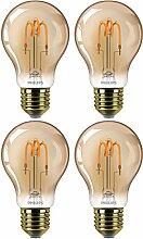 Philips LED Classic Dekolampe Gold Vintage