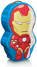 Philips Marvel Iron Man LED Taschenlampe, blau/rot