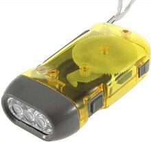 philna123LED Dynamo Taschenlampe Camping
