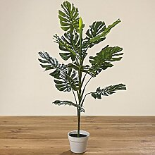 Philodendron im Topf H110cm Material: Kunststoff