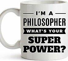 Philosoph Kaffeebecher Gag Neuheit Kaffeetasse