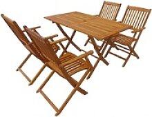 PHOEBE CAT Sitzgruppe Klappbar Gartenmöbel Set,