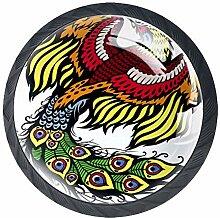 Phoenix 5 Schubladenknöpfe Lupe Abbildung innen